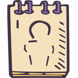 art, arts and crafts, craft, doodle, hobby, sketchpad icon