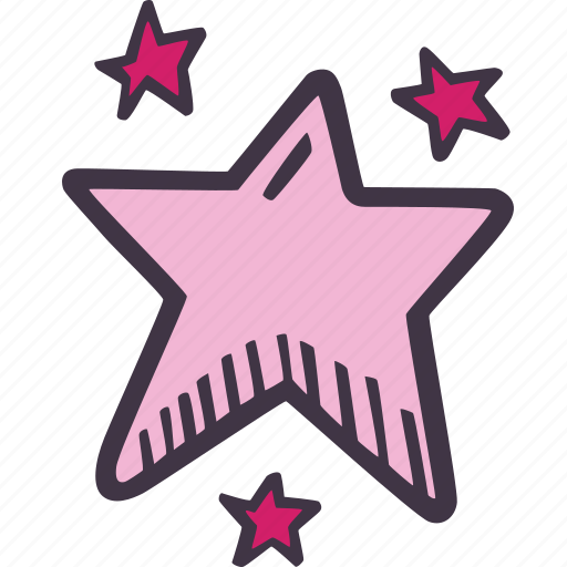 art, arts and crafts, craft, doodle, hobby, stars icon