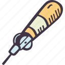 art, arts and crafts, awl, craft, doodle, hobby, stitching icon