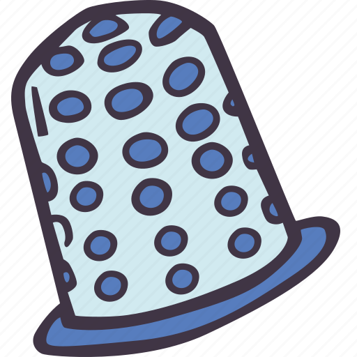 art, arts and crafts, craft, doodle, hobby, thimble icon