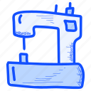 art, craft, crafts, doodle, hobby, machine, sewing icon