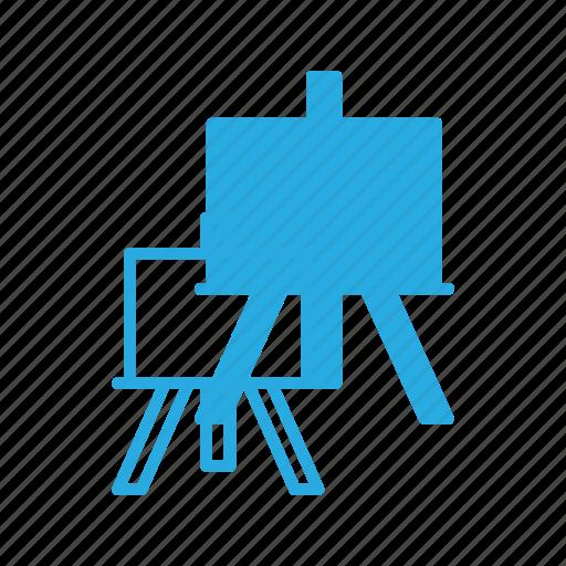 art, board, canvas, multimedia, paint icon