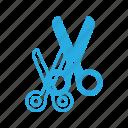 barber, crafts, cut, cutting, handcraft, scissor, tool icon