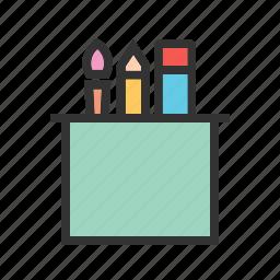 artist, brush, brushes, paint, paintbrush, painter, tools icon
