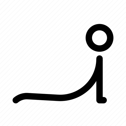 asana, str, yoga icon