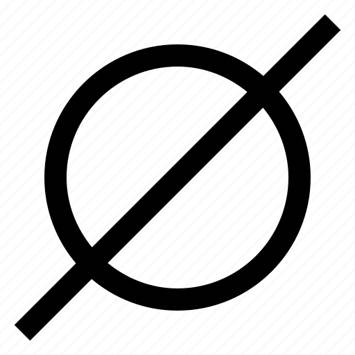 blank, clear icon
