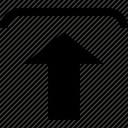 arrow, file icon