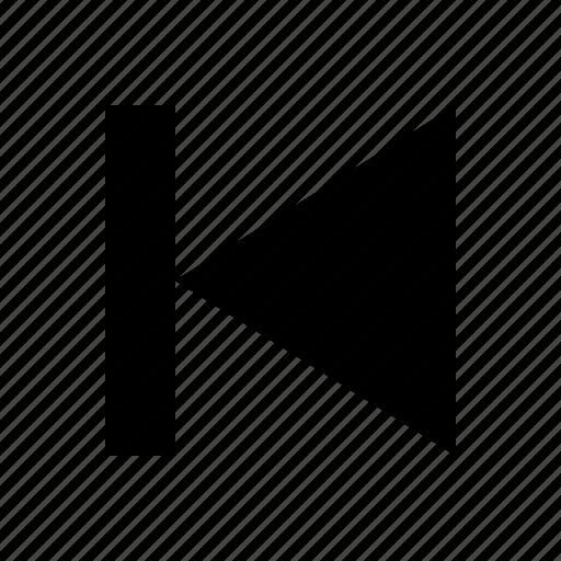 audio, back icon