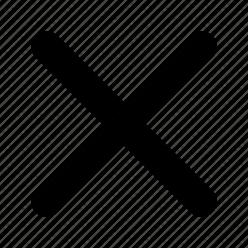close, multi icon
