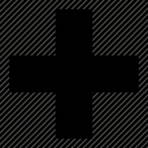 clinic, cros icon