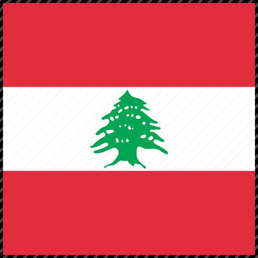 country, flag, lebanese, lebanon, national icon