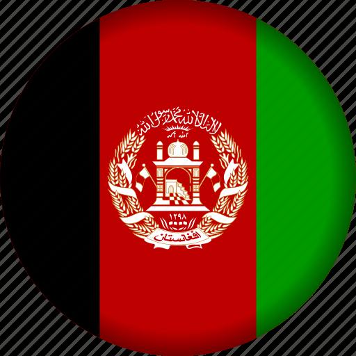 afghanistan, flag icon