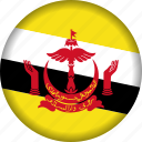brunei, flag icon