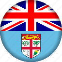 fiji, flag icon