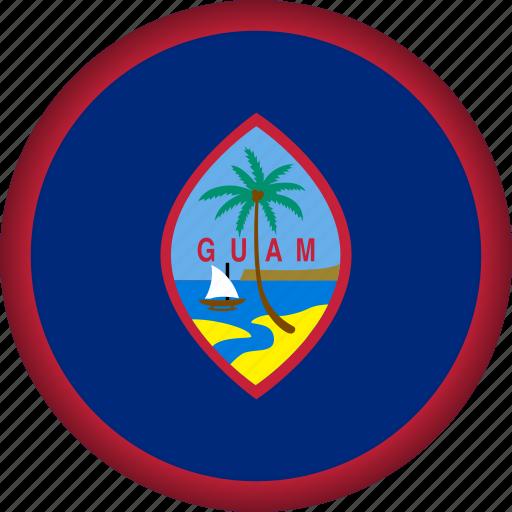 flag, guam icon