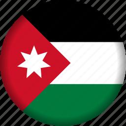 flag, jordan icon
