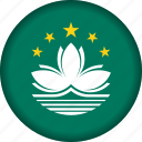 flag, macau icon