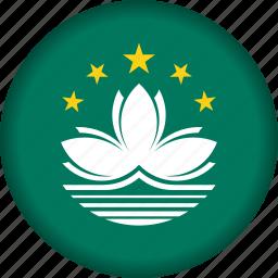 flag, macau icon