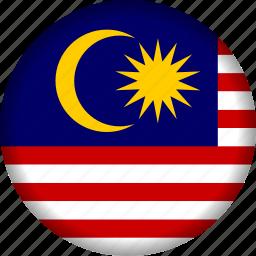 flag, malaysia icon