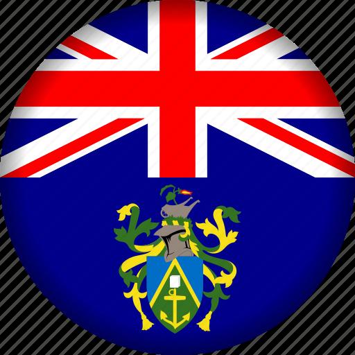 flag, islands, pitcairn icon