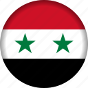 flag, syria icon