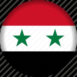 flag, syria icon