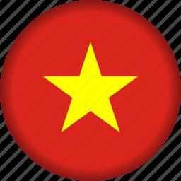 flag, vietnam icon