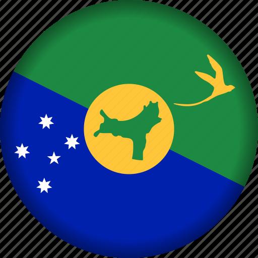 chrismas, flag, island icon