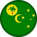 cocos, flag, islands icon