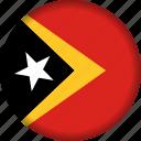 east, flag, timor