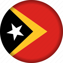 east, flag, timor icon