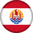 flag, french, polynesia icon