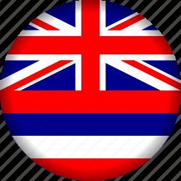 flag, hawaii icon