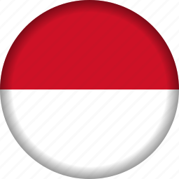 flag, indonesia icon