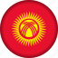 flag, kyrgyzstan icon