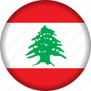 flag, lebanon icon