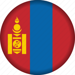 flag, mongolia icon