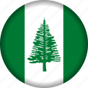 flag, island, norfolk icon