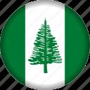 flag, island, norfolk
