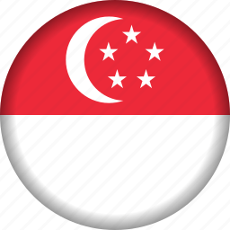 flag, singapore icon