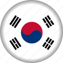 flag, korea, south icon