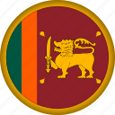 flag, srilanka icon