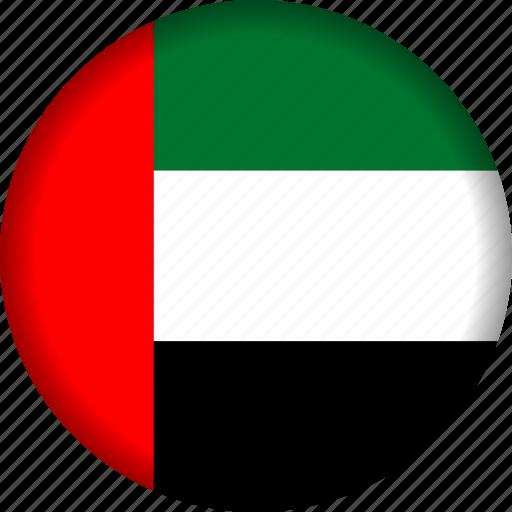 flag, uae icon