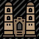 city, country, asia, gissar fort, landmark, hisor, tajikistan