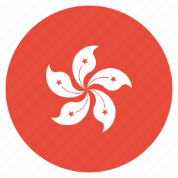 asian, country, flag, hong, kong, national icon