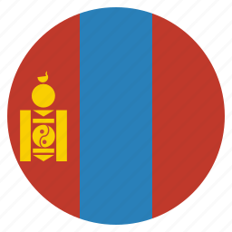 asian, country, flag, mongolia, mongolian, national icon