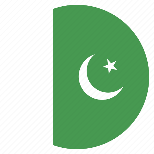 asian, country, flag, national, pakistan, pakistani icon