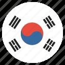 country, flag, korea, korean, south