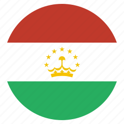 country, flag, national, tajikistan, tajikistani icon