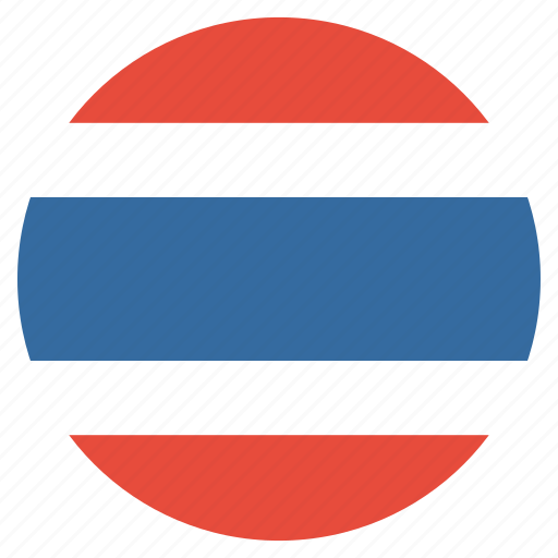 asian, country, flag, national, thailand icon